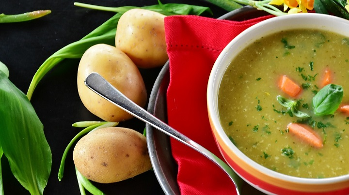 Five achievable stages taking you from couch potato soup to healthy living